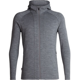 Icebreaker Wander Hooded Jacket Men gritstone heather